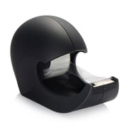 "Insten Desktop Tape Dispenser SoFT Touch with Tape (1"" Core) - Black Wave"