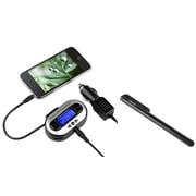 Insten CAR Radio FM Transmitter 3.5mm Port Universal For MP3 MP4 Player Apple iPad Mini Air iPod Nano Touch + Stylus