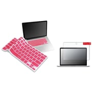 "Insten Matte Screen Protector+Light Pink Keyboard Shield Keypad for Macbook Pro 13"" A1278"