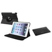 Insten Black Leather Case with Multi Viewing Stand+Bluetooth Keyboard For Apple iPad Mini 1 2 3 Gen