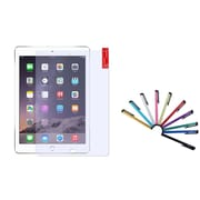 Insten Anti-Glare Screen Guard for Apple iPad Air 2nd 1st Gen (with 10-Piece Stylus)