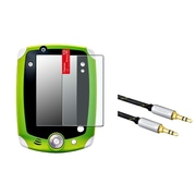 Insten Anti-Glare Screen Protector For Leapfrog LeapPad 1/2/3 Explorer (with 3.5mm Audio Extension Cord M/M)