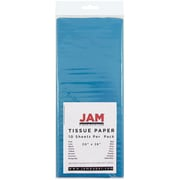 JAM Paper® Tissue Paper, Bright Blue, 10/Pack (1152346)