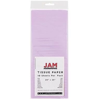 JAM Paper® Tissue Paper, Lilac Purple, 10/Pack (211515213)