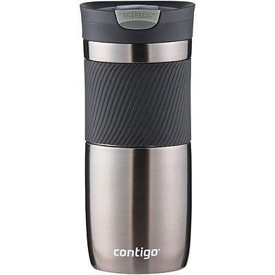Contigo SSH100A01 16 Ounce Snapseal Byron Travel Mug Gunmetal