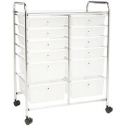 Honey-Can-Do CRT-01683 12-Drawer Rolling Cart