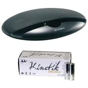 Jensen SMPS-125 Portable Speaker System & Kinetik Batteries AA 50 Pk