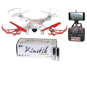 World Tech Elite 33743 4.5-channel 2.4 Ghz Striker Drone & Kinetic 50 Pk AA