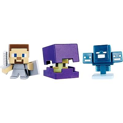 Mattel CGX24 Minecraft Mini-Figure Assortment, 3 pk 2483862