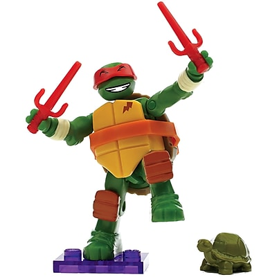 Mega Bloks DMX21 Teenage Mutant Ninja Turtles Micro Action Figures Series 2 2483835