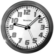 "Westclox 32004BK 7.75"" Translucent Wall Clock (Black)"