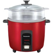 PANASONIC SR-Y22FGJR 12-Cup Automatic Rice Cooker (Red)