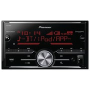 Pioneer MVH-X690BS Double-DIN In-Dash Digital Media Receiver with Bluetooth,  MIXTRAX & SiriusXM Ready