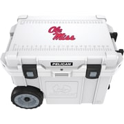 Petra CC-19327-45qWT University of Mississippi Ole Miss Rebels Elite Wheeled Cooler