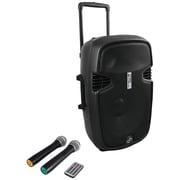 PYLE PRO PPHP159WMU 15'' 1600 Watt Bluetooth Portable Loudspeaker System