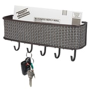 Wee's Beyond Wall Mounts Key Hooks Mail Basket