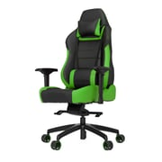 Vertagear High-Back Gaming Office Chair w/ Arms; Green