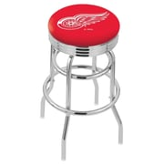 Holland Bar Stool 30 inch Bar Stool; Detroit Red Wings