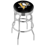 Holland Bar Stool 30'' Bar Stool; Pittsburgh Penguins