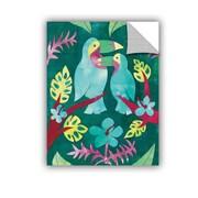 ArtWall Wild Apple Jungle Jive I Wall Mural; 32'' H x 24'' W x 0.1'' D