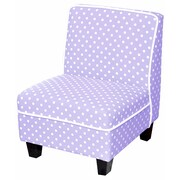 Heritage Kids Kids Polyester Novelty Chair; Lilac