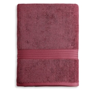 Luxor Linens Bliss Egyptian Quality Cotton Luxury Bath Towel; Garnet Red