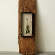 Creative Co-Op Botanist Metal Hanging Shadow Box Picture Frame