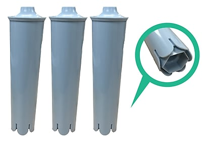 Crucial Jura Clearyl Refrigerator/Icemaker Water Purifier Filter (Set of 3) WYF078279707590
