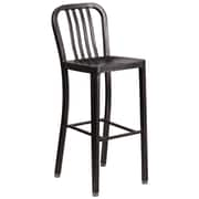 Alston 30.25'' Bar Stool; Black Antique