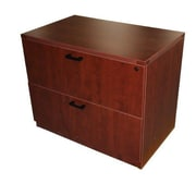 Furniture Design Group Sinclair 2-Drawer Lateral File Cabinet; Cherry