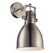 Laurel Foundry Modern Farmhouse Dillie 1 Light Spotlight; Brushed Nickel