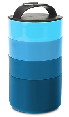 Smart Planet Stackable Food Storage Container; Blue WYF078279655619