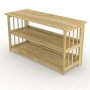 StorageManiac TV Stand; Natural