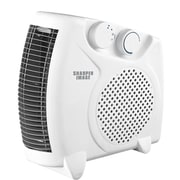 Sharper Image Table Top Portable Heater; White