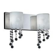 Z-Lite Jewel 2-Light Bath Bar; Halogen