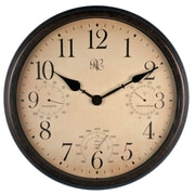 River City Clocks Outdoor 16.5'' Wall Clock