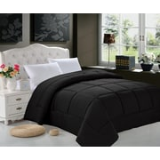 ELEGANT COMFORT All Season Down Alternative Comforter; Full/Queen