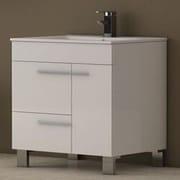 Eviva Cup  31.5'' Single Bathroom Vanity Set; White