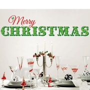 WallPops! Merry Christmas Wall Decal