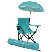 Redmon for Kids Beach Kids Chair w/ Shoulder Bag; Aqua