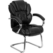 Offex Leather Reception Chair