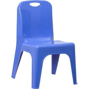 Offex 11'' Plastic Classroom Chair; Blue