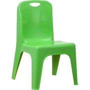 Offex 11'' Plastic Classroom Chair; Green