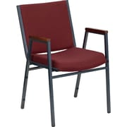 Offex Hercules Series Stacking Chair; Burgundy