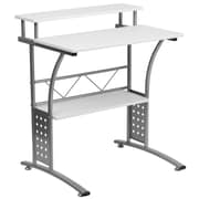 Offex Clifton Computer Desk; White