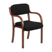 Offex Executive Guest Chair; Walnut