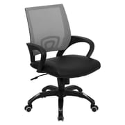 Offex Mid-Back Mesh Desk Chair; Gray