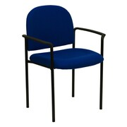 Offex Stackable Reception Chair; Navy