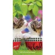 2017 Kitten Cuddles 7x8 Pocket Planner (9781465092090)