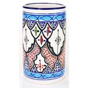 Le Souk Ceramique Tibarine Stoneware Utensil/Wine Holder
